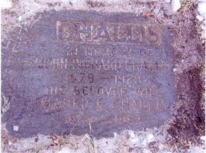 John & Mabel Challis Grave copy