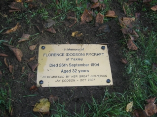 Florence Grave Peterboro