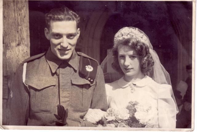 Arthur & Irene Wed Apl 42 copy