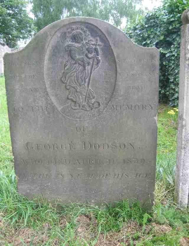 George Dodson grave d. 1839 copy