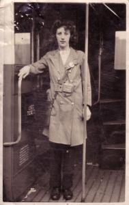 Irene Bus Conductress c1944 copy